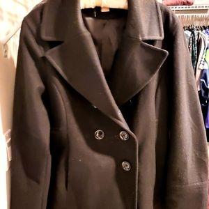 Gorgeous Black pea coat